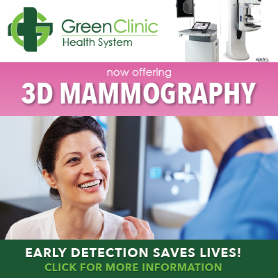Now Offering 3D Mammography
