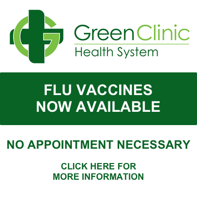 Flue Vaccines now available